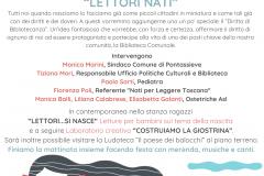 """Diritto di """"bibliotecanza"""". Sabato 19/01/2019 ore 10:30 nella Biblioteca comunale di Pontassieve"""