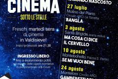 Locandina cinema sotto le stelle 2021
