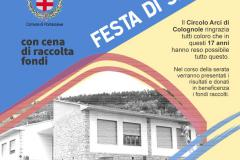 Pontassieve, sabato 28 luglio 2018. Festa di saluto al Circolo ARCI di Colognole