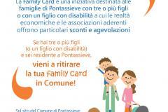 Pontassieve, 15/10/2020 - Nuova stagione per la Family Card del Comune di Pontassieve