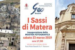I Sassi di Matera. Pontassieve, mostra fotografica - Museo Geo Centro Studi. Inaugurazione sabato 23 marzo 2019 ore 17,30