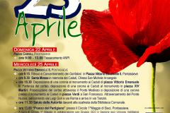 25 aprile 2018, Festa della Liberazione