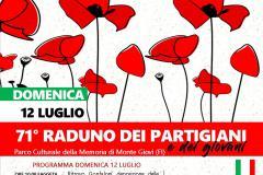 Raduno dei Partigiani e dei Giovani a Monte Giovi, 12 luglio 2020