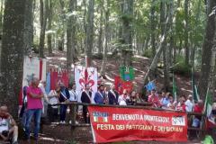 Foto di archivio. Raduno dei Partigiani e dei Giovani a Monte Giovi, 2019