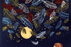 """""""IL SEGNO E' UN BLUES"""" Opera di NADIA LYSAKOWSKA. Sala delle Eroine - Palazzo Comunale di Pontassieve 14 giugno - 9 luglio 2018"""