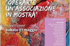 OPERARTE un'Associazione in mostra. Pontassieve 27 maggio - 25 luglio 2017