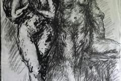 """""""IL SEGNO E' UN BLUES"""" Opera di PATRIZIA GABELLINI. Sala delle Eroine - Palazzo Comunale di Pontassieve 14 giugno - 9 luglio 2018"""