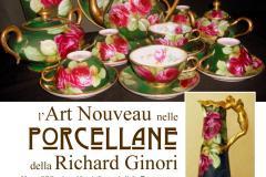 L'Art Nouveau nelle porcellane della Richard Ginori. Pontassieve 2017