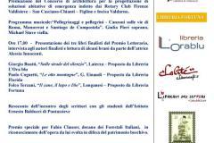 Premio Letterario Vallombrosa 2018. Abbazia du Vallombrosa, sala del Capitolo, sabato 19 maggio  2018 ore 16:00