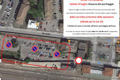 Area Ferroviaria, sabato 24 luglio 2021 chiusura del parcheggio