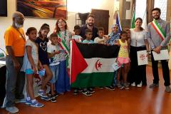 Saharawi in visita a Firenze