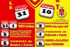 Festa della Polisportiva Sieci A.S.D. 31 maggio - 10 giugno 2018
