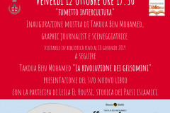 Mostra Intercultura della fumettista Takoua Ben Mohamed. Pontassieve, 12 ottobre 2018