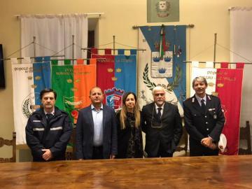 """Polizia Municipale associata: i Sindaci Marini e Lorenzini: """"Volontà di proseguire nel rapporto di collaborazione"""""""