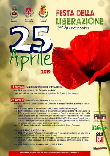 Festa di Liberazione. 25 aprile 2019