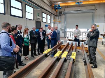 Foto di Archivio - 04/06/2018 Officina Nazionale di Pontassieve: 150 anni di eccellenza ingegneristica e ferroviaria