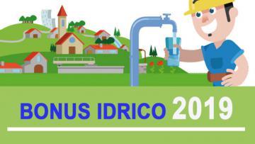 Bonus idrico 2019
