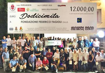 Pontassieve. 12.000 euro per la Fondazione Fagioli