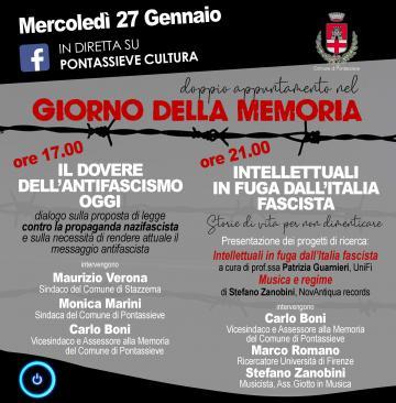 Giornata della Memoria. 27 gennaio 2021