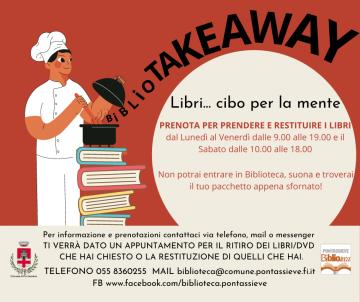 #bibliotakeaway, per chi cerca consigli di lettura, disponibili i menù preparati dagli operatori della Biblioteca