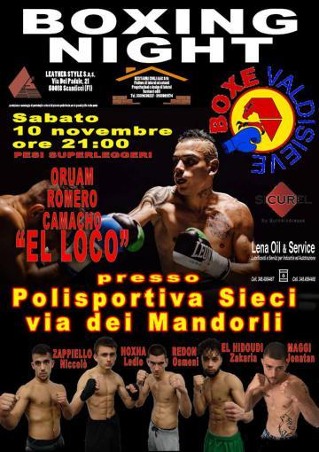 Boxing Night. Pontassieve 10/11/2018