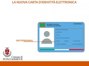 Carta d\'identità elettronica | Comune di Pontassieve