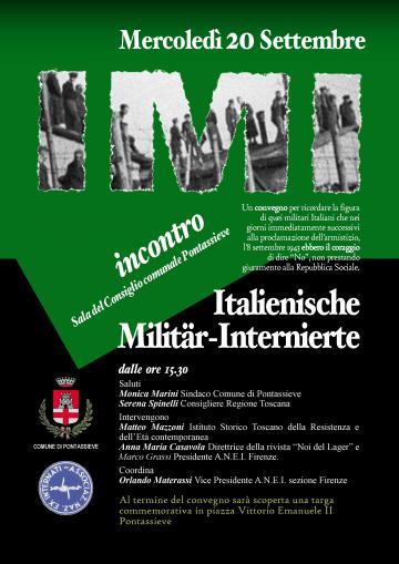 IMI - Italienische Militär-Internierte. Pontassieve 20 settembre 2017
