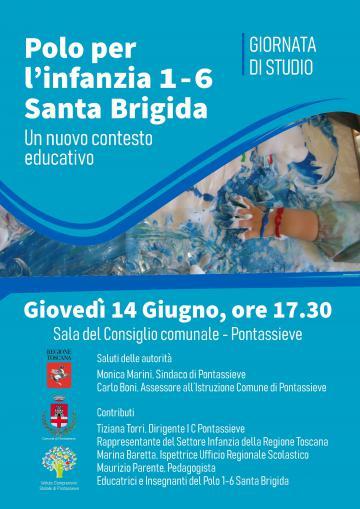 Polo per l'infanzia 1-6 Santa Brigida. 14 giugno 2018
