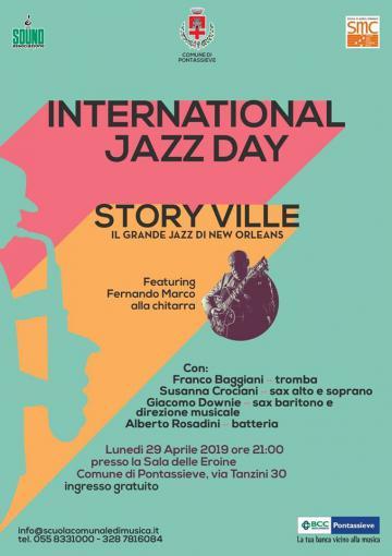 International Jazz Day. Pontassieve, 29 aprile 2019