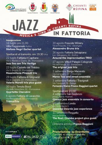 locandina jazz in fattoria