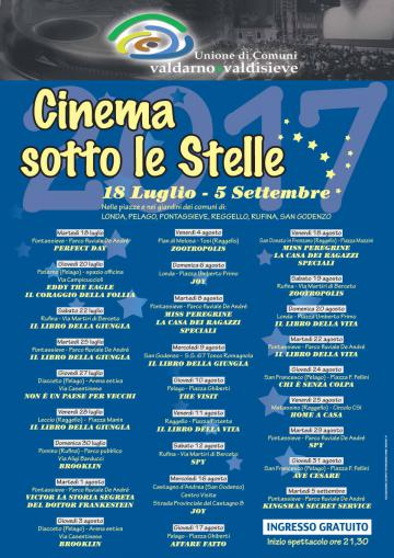 Cinema sotto le stelle 2017