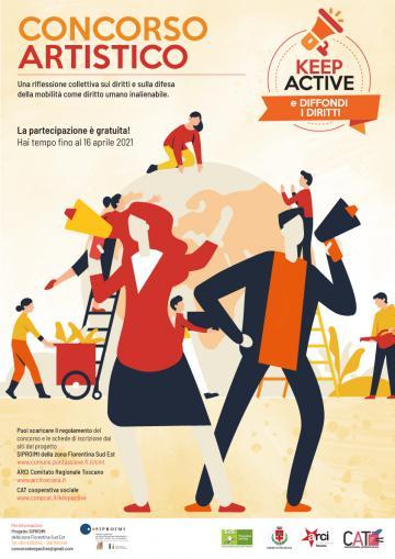 Concorso artistico Keep Active 2021