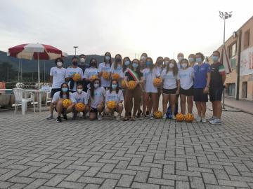 Giugno 2021. Pontassieve ospita il ritiro delle azzurre della nazionale under15 femminile di Pallanuoto