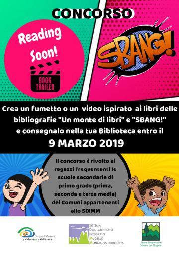 Bando di concorso Progetto Monte di libri + Sbang!