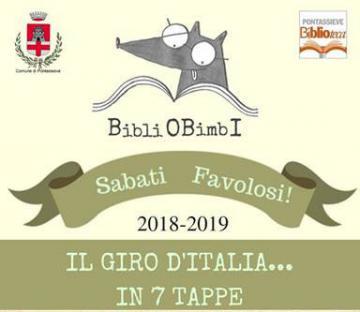 Sabati Favolosi. Giro d'Italia con la fiabe regionali. Biblioteca di Pontassieve dal 24 novembre 2018 al 18 maggio 2019