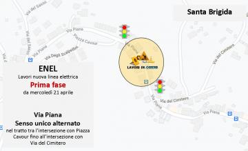 Santa Brigida, ENEL