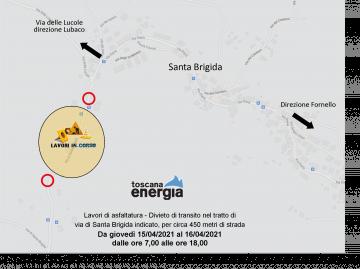 Toscana energia. Santa Brigida