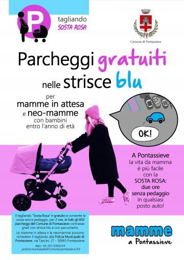 """Parcheggi gratuiti, pannolini ecologici e anche un """"Baby pit-stop"""" per cambiare e allattare i nuovi nati"""
