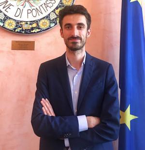 Mattia Cresci, assessore del Comune di Pontassieve