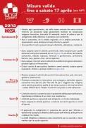Toscana in zona rossa , misure valide fino al 17 aprile