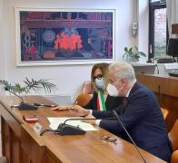 Lunedì 8 febbraio 2021 il Presidente della Regione Giani e l'Assessore all'Economia Marras a Pontassieve per la firma dell'accordo con il Comune per un centro di ricerca