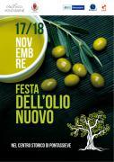 Pontassieve. Festa dell'olio sabato 17 e domenica 18 novembre 2018