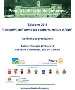 Premio Letterario Vallombrosa 2018