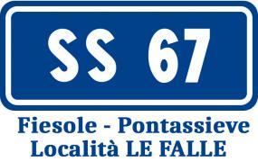 SS67 località Le Falle