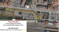 14/06/2021 Area ferroviaria - al via le operazioni di bonifica con la rimozione delle strutture in ferro