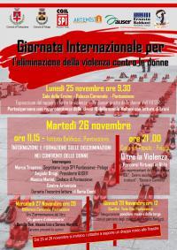 Giornata internazionale per l'eliminazione della violenza contro le donne. Pontassieve, novembre 2019