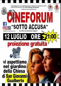 Cineforum. Proiezione del film Sotto accusa di Jonathan Kaplan