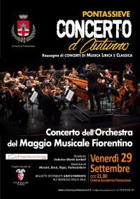 L'Orchestra del Maggio Musicale Fiorentino a Pontassieve. 29 settembre 2017