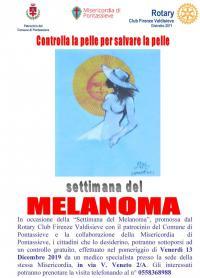 Settimana del Melanoma. Venerdì 13 dicembre 2019
