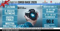 corso fotografia 2019 2020